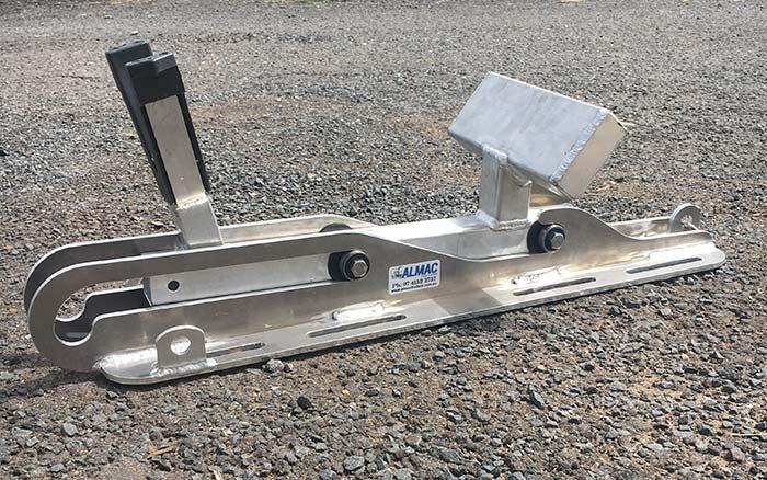 Almac Trailers - Outboard Motor Slide
