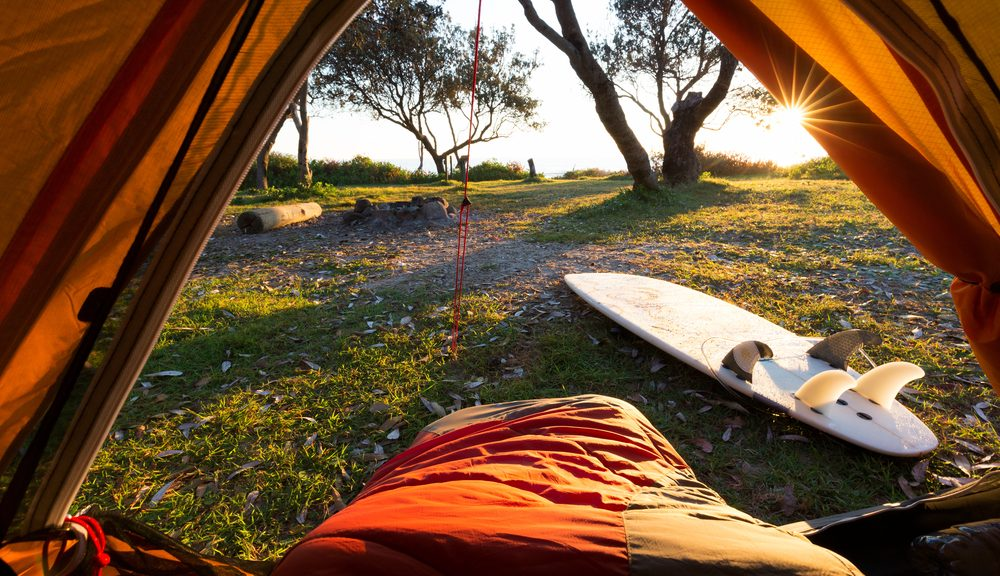 best camping spots in south east Queensland